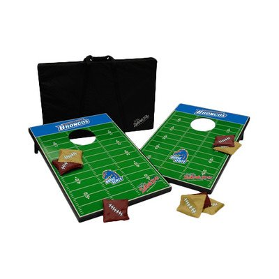 NCAA 10 Piece Cornhole Game Set NCAA Team: Boise State by Tailgate Toss
