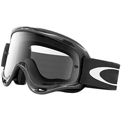 Oakley XS O-Frame MX Goggles (Jet Black Frame/Clear Lens, One - Oakley Strap Goggles