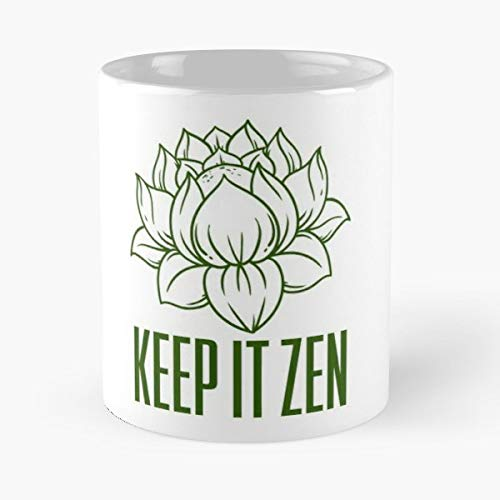 - Zen Buddhism Buddha Peace - Funny Mug Coffee Gift For Christmas Father's Day