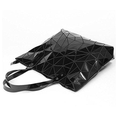 Della Colore Piegato Moda Geometrica Di Spalla Bag Haoxiaozi Donna Reticolo Macq1Xzg