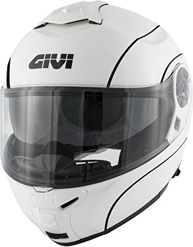 GIVI HX21BN90056 Hps Hx21 Casco Modular Challenger, Color Negro Mate, Talla 56/S GIVI Deutschland GmbH