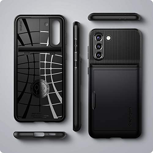 Spigen Slim Armor CS Designed for Galaxy S21 Case (2021) - Black