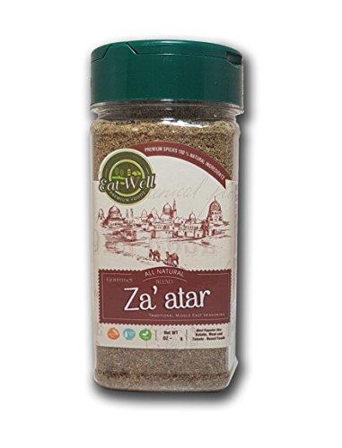 Za'atar (Zatar/Zaatar/Zahtar) Seasoning Blend | 3.5 oz - 100 g | Traditional Lebanese Spices | Zahtar Spice | SALT ()