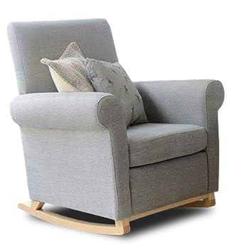 SUENOSZZZ- Sillón Relax Modelo Burgos tapizado Tela Chenilla Gris. Reclinable 3 Posiciones. Medidas: 85 x 72 x 99 cm (61 cm Partido).
