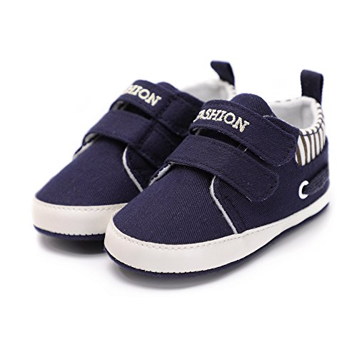 Pictures of Kuner Infant Baby Boys and Girls Canvas Blue 1