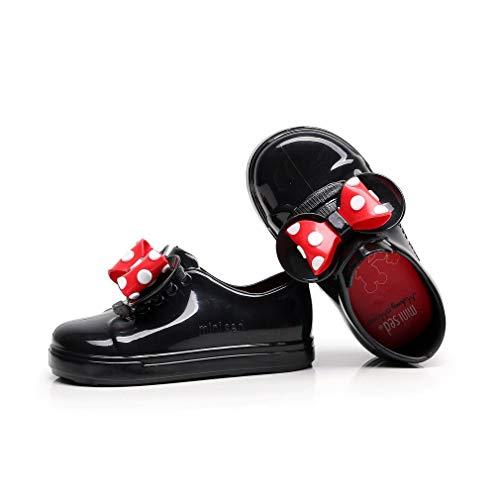 Pvc Sandals Impermable Jelly Sungpunet On Pour Noir Bowknot Slip Enfants Bb Unisexe Dcor Jeu Cm 14 Avec Casual Chaussures XxIwddtqrY