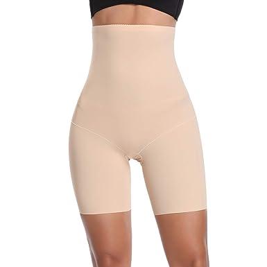 3f17ccc03 Joyshaper Tummy Control Thigh Slimmer Body Shaper for Women High Waist  Knickers Slimming Butt Lifter Boyshorts Pants Seamless Shapewear Underwear   ...