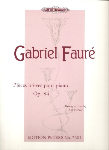 Pieces breves pour piano Op. 84