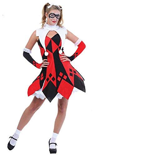 Horries Womens Teqi funny clown costume