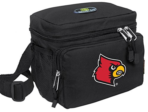 Broad Bay University of Louisville Lunch Bag Official NCAA Louisville Cardinals Lunchboxes ()