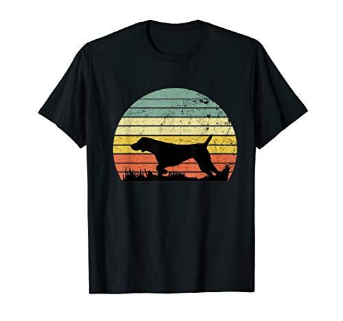 Pointers German Shorthaired Shirt Vintage Dog Retro t-shirt
