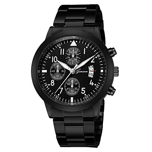 Best Gift for Him - Belloc Military Watches for Men Fashion Wristwatch Chronograph Date Sport Watch