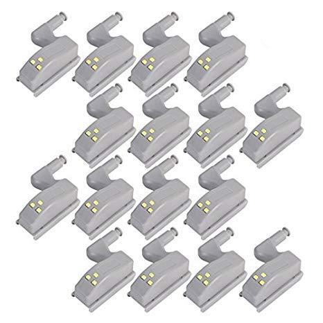 Cerniere Per Ante Armadio Camera Da Letto.Cosoro 16 Sensori Con Luce A Led Per Cerniere Ante Luci Notturne