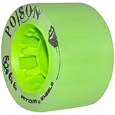 Atom Poison Wheels : Wheels For Skates : Sports & Outdoors