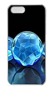 iPhone 5 5S Case 3D Crystal Sphere PC Custom iPhone 5 5S Case Cover Transparent by lolosakes
