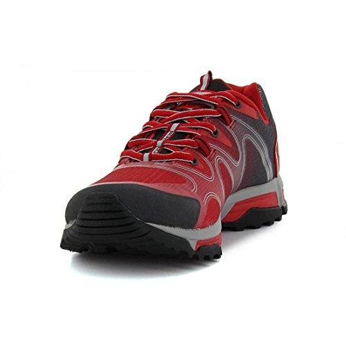 zapattu donna Scarpe rosso escursionismo grigio da rqrnCwvA