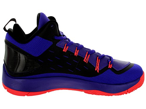 Nike Jordan hombres Jordan Super.Fly 2 PO Drk Cncrd/Drk Cncrd/Blck/Infrr Basketball zapatos 11 Men US
