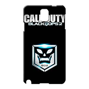 samsung note 3 Slim High Grade New Snap-on case cover mobile phone carrying skins call of duty black ops 2 skull and crest
