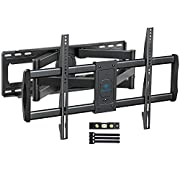 """#LightningDeal PERLESMITH TV Wall Mount Bracket Full Motion, Tilts, Swivels for most 50-90 Inch LED LCD OLED Flat Screen Plasma TVs with Dual Articulating Arms, Holds up to 165lbs VESA 800x400mm Max Stud Spacing 24"""""""