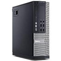 Dell 7010 SFF Desktop, Intel Core i5 3470 3.2 GHz, 6 GB DDR3, 500 GB, Windows 7 Pro, Negro Reacondicionado (Certified Refurbished)