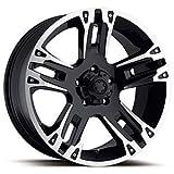 Ultra Wheel 235B Maverick Matte Black Wheel (16x8''/6x5.5mm, +10 mm offset)