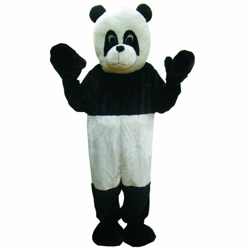 (Panda Mascot Costume Set - Adult (one size fits)