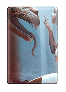 AnnDavidson Scratch-free Phone Case For Ipad Mini/mini 2- Retail Packaging - The Fairy And The Dragon