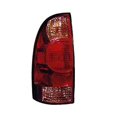 Go-Parts - for 2005 - 2015 Toyota Tacoma Rear Tail Light Lamp Assembly / Lens / Cover - Left (Driver) Side 81560-04150 TO2800158 Replacement 2006 2007 2008 2009 2010 2011 2012 2013 2014: Automotive