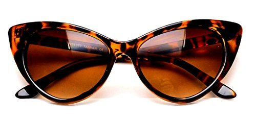 WebDeals - Cateye or High Pointed Eyeglasses or Sunglasses Vintage Inspired Fashion (Glamour ()