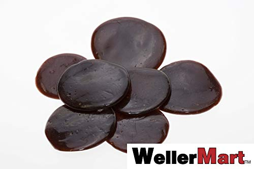 Garnet Button - Light Pure Button Lac 1/2 Lb or 8 Oz