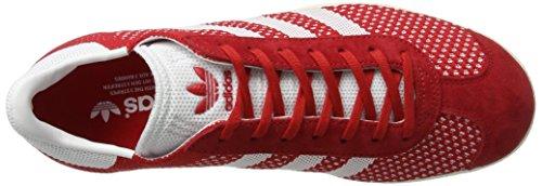footwear Shoes chalk White Mens White Primeknit Red Gazelle Adidas scarlet YqFCSxacw
