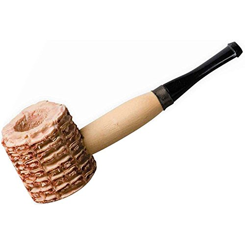 qnprt Vintage Classic Pipes Corn Cob Pipe]()