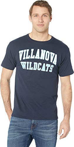(Champion College Men's Villanova Wildcats Jersey Tee Navy 2 Large)