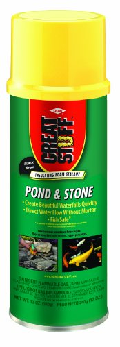 Black Pond Foam (GREAT STUFF Pond & Stone 12 oz Insulating Foam Sealant)