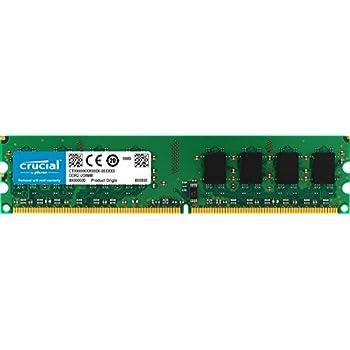 Crucial Technology CT25664AA800 2 GB 240 Pin DIMM DDR2 PC2 6400 Memory Module