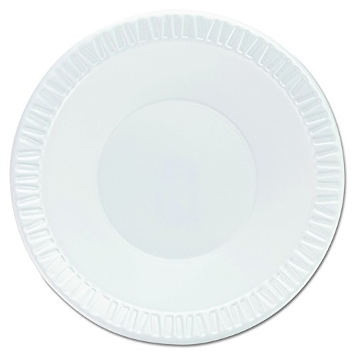 - Dart 12BWWQR Quiet Classic Laminated Foam Dinnerware Bowls, 10-12 Oz, White, 8 Packs of 125 (Case of 1000)
