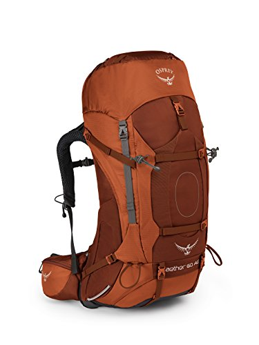 Osprey Packs Osprey Aether Ag 60 Backpack, Outback Orange, Sm, Small