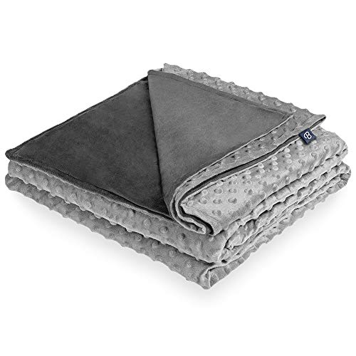 Bare Home Duvet Cover for Weighted Blanket