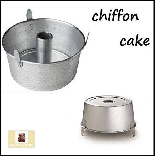 STAMPO RUOTO teglia chiffon cake 20cm angel cake ciambellone americano