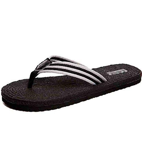 Indoor Zapatos Masculinas Negro Al Y Playa De Verano Tendencia Personalidad Libre No Estudiantes Deslizante Aire Los Zapatillas PFYqF