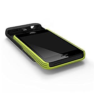Tylt Energi Sliding Power Case for iPhone 5/5S - Retail Packaging - Green