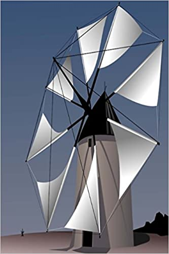 My Journal: Energy Windmill Prototype, Blank 150 Page Lined