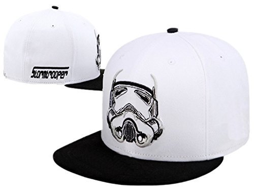 XCOSER Darth Vader And Stormtrooper Cosplay Baseball white Hats for SW cosplay BBoy Cap hot sale (Used Stormtrooper Costume For Sale)