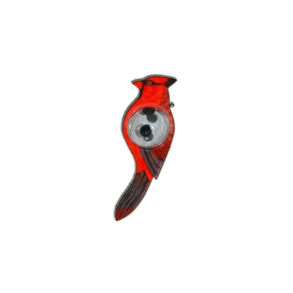 Berties Best Bird Feeder   Cardinal Shaped Birdfeeder   The Perfect Addition to Your Outdoor Décor