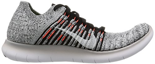 Gray ttl Running Competition Shoes WMNS Women's Wolf Free Bl RN Crmsn Flyknit Grey Nike Blk gmm qw41U87q
