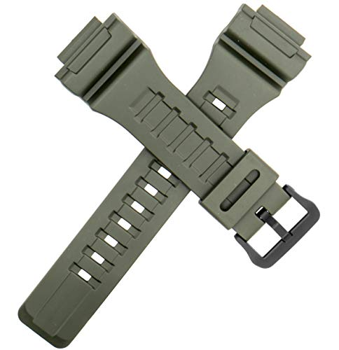Genuine Casio Watch Strap Band for AQ-S810W W-735H W-736H Green Olive 10410730