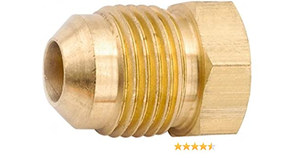 Seal Plug Flare 5//16 Brass Parker 639F-5 45 Degree Fitting