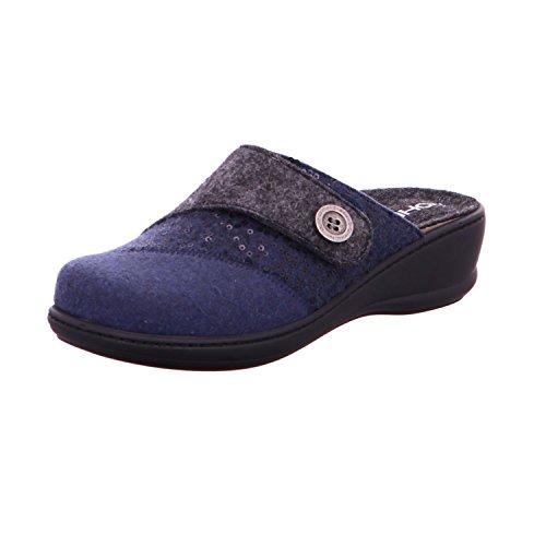 Rohde 6226 pour femme Chaussons Bleu 55 rrqxdpw7