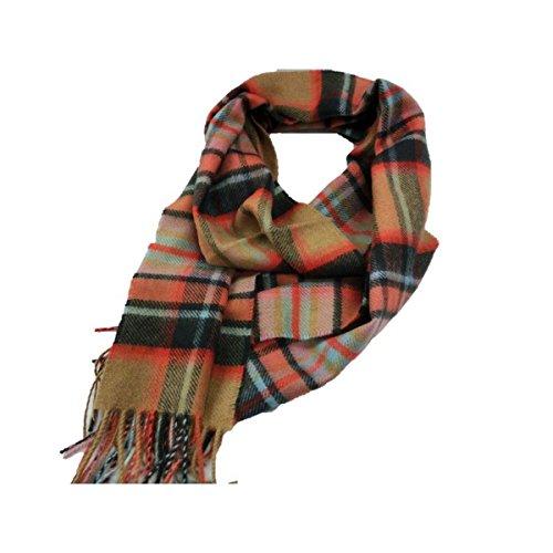新作 英国製 Made in Scotland カシミヤ100%マフラー Large tartan2 ファッション マフラー ストール スカーフ バンダナ top1-ds-1984174-ah [簡素パッケージ品] B077DC696R