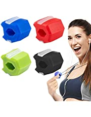Jaw Face Exerciser Ball Define Your Jawline Facial Neck Chin Exercise Reusable Face Slimming Strengthener Double Chin Reducer with Neck Rope